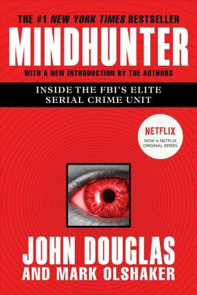 "Portada del libro ""Mindhunter"", de John Douglas."