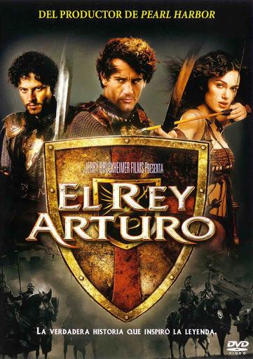 """Póster de la película """"El Rey Arturo"""" de Antoine Fuqua."""