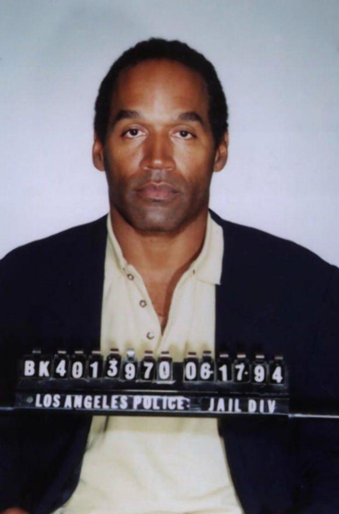 Ficha policial de O.J. Simpson