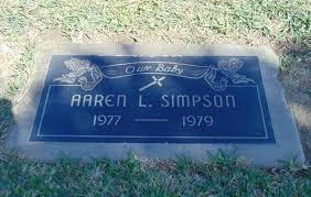 Lapida de la hija de O.J. Simpson