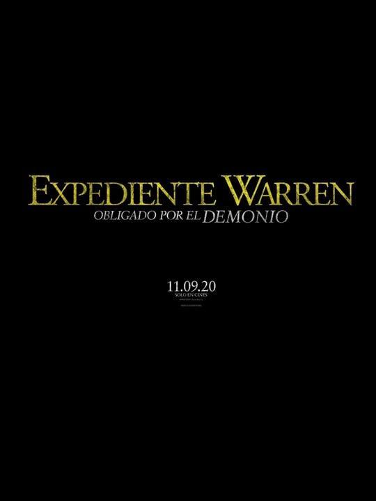 Poster Expediente Warren obligado por el demonio