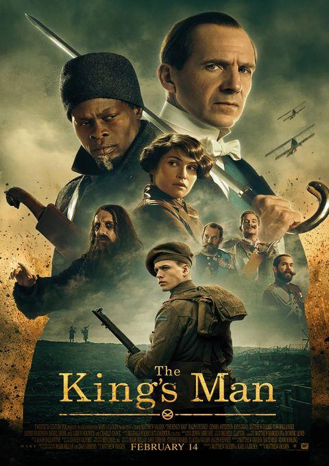 Poster The Kingsman La Primera Mision