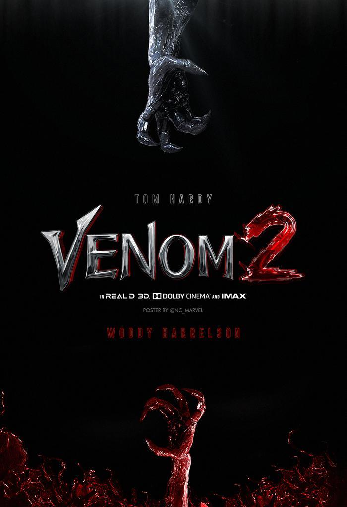 Poster Venom 2 Habra matanza