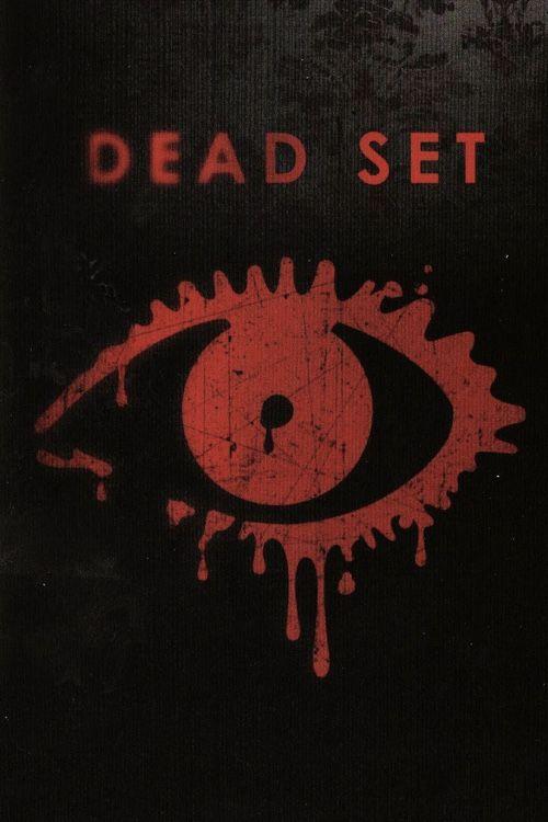 """Póster de """"Dead Set"""": zombies británicos."""