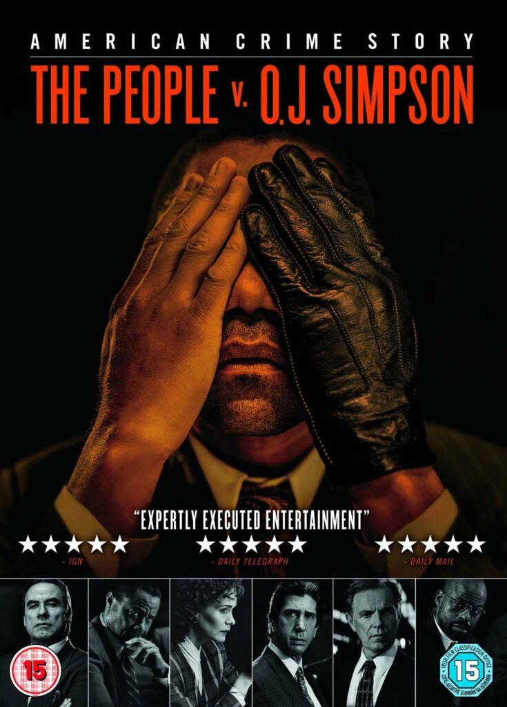 """Póster de """"American Crime Story: el pueblo contra O.J. Simpson""""."""