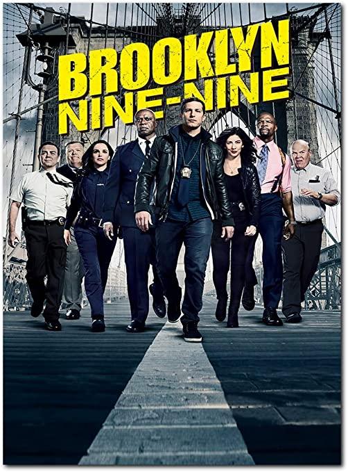 "Poster de ""Brooklyn Nine-Nine""."