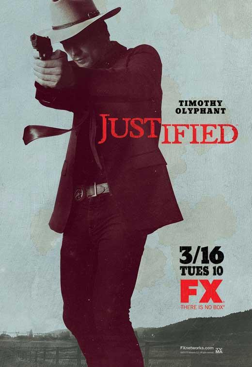 """Poster de """"Justified""""."""