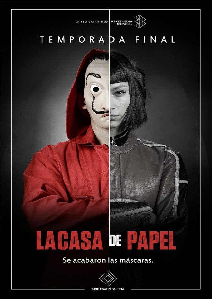 """Poster de """"La casa de papel""""."""