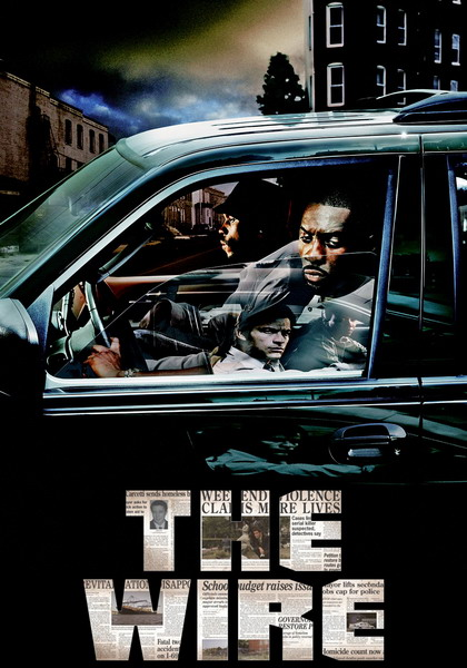 "Poster de ""The Wire""."