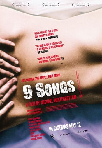 "Póster de ""9 songs""."