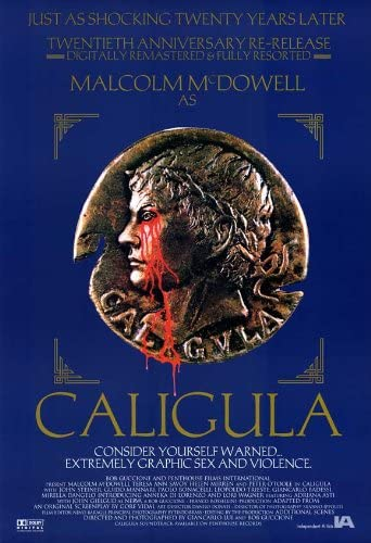 """Póster de """"Calígula""""."""