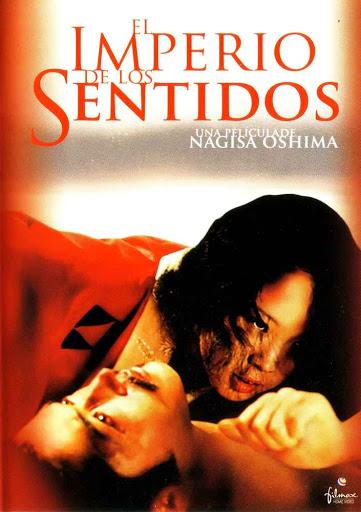 """Póster de la película erótica japonesa """"El Imperio de los sentidos""""."""