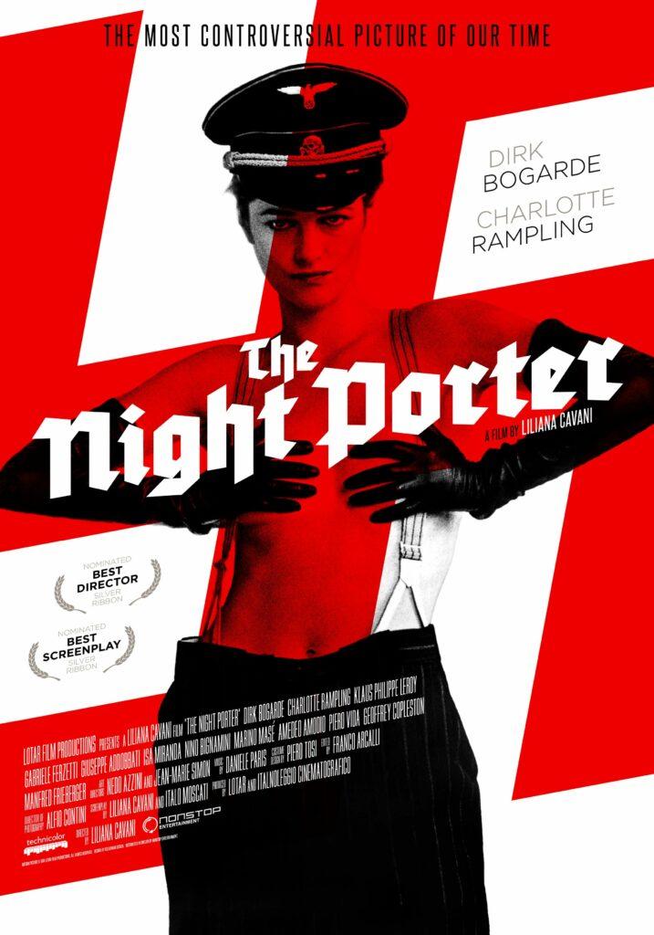 "Poster de ""Portero de noche""."