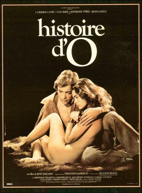 """Póster de """"Historia de O""""."""