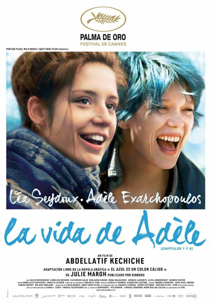 """Póster de """"La vida de Adèle""""."""
