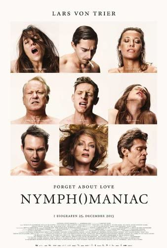 "Póster de ""Nymphomaniac""."