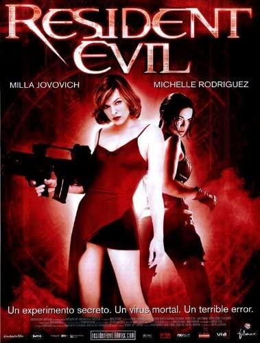 """Póster de """"Resident Evil""""."""