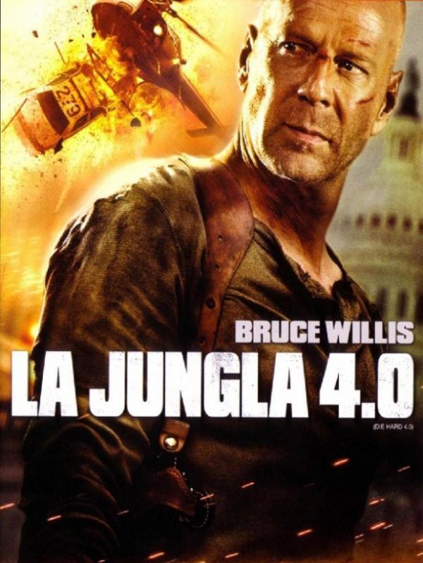 """Póster de """"La jungla 4.0""""."""