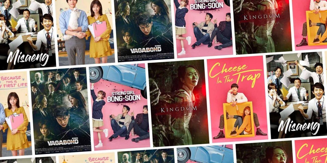 Posters de Series Coreanas en Netflix