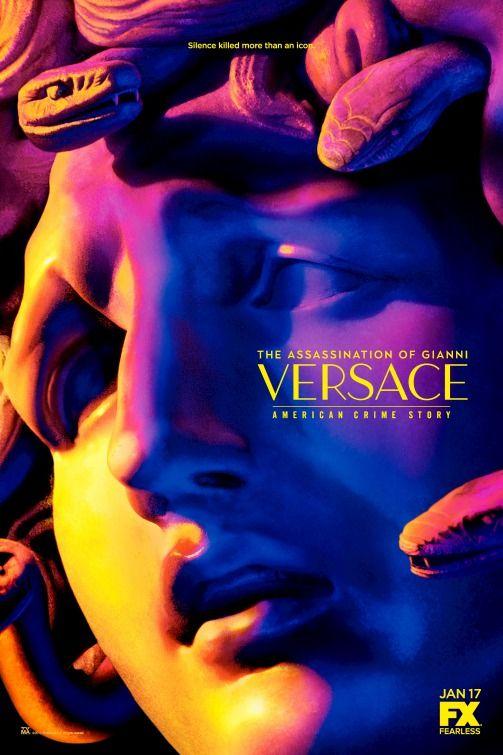 "Poster de ""American Crime Story: el asesinato de Gianni Versace""."