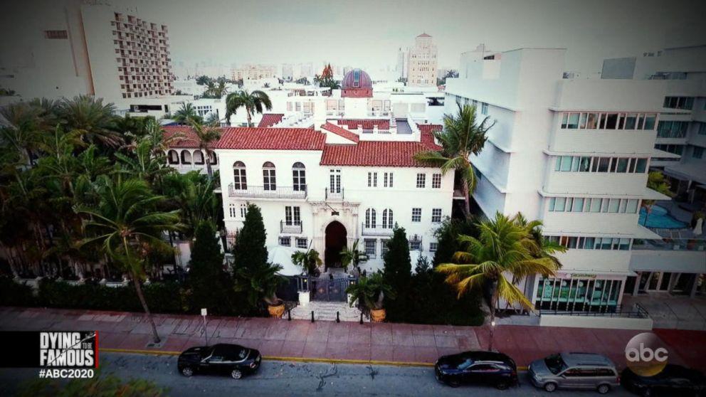 Mansión de Gianni Versace en Miami.