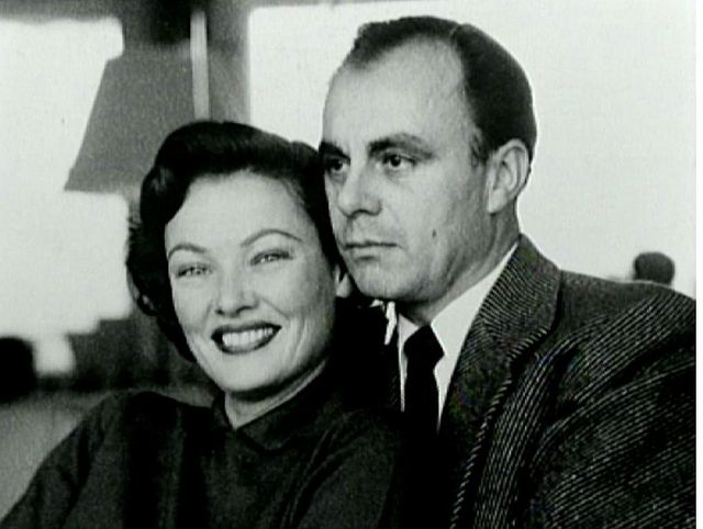 Gene Tierney con Alí Khan.