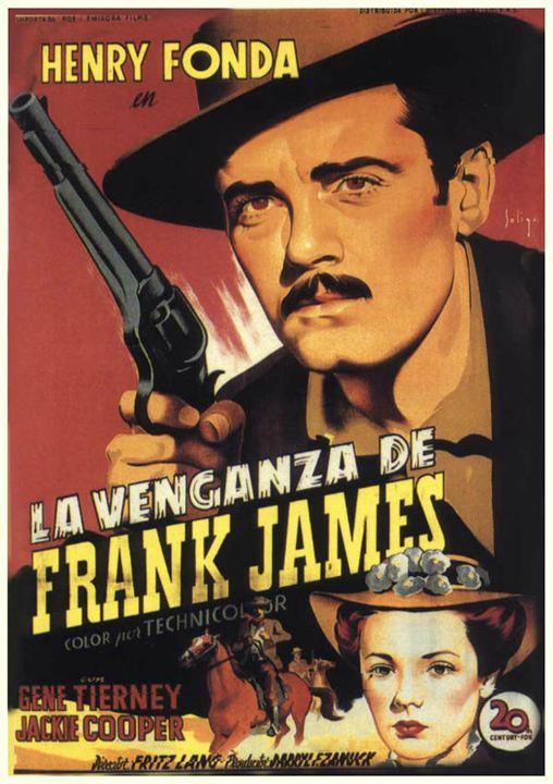 """Poster de """"La venganza de Frank James"""""""