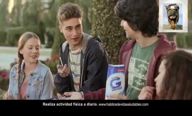 Ester Expósito en su anuncio de pipas.