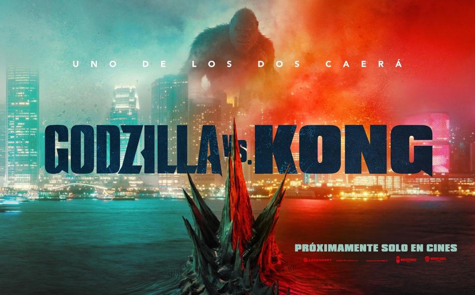 """Póster de """"Godzilla vs. Kong"""": la lucha definitiva entre Godzilla y King Kong con nuevo trailer"""
