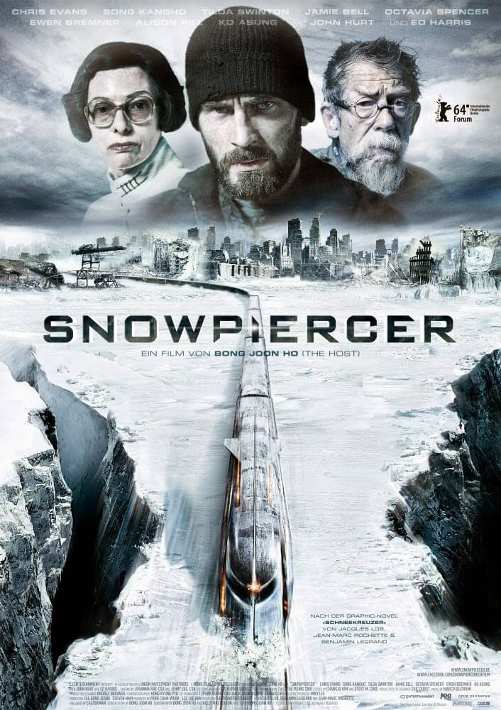 Poster Pelicula Snowpiercer Rompenieves