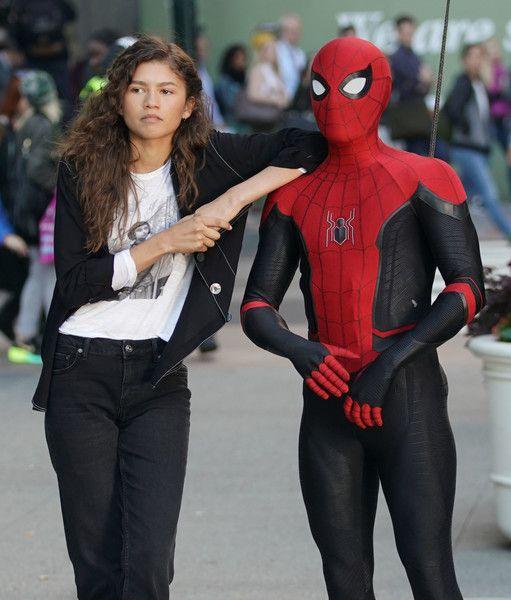 Zendaya con Spider-Man