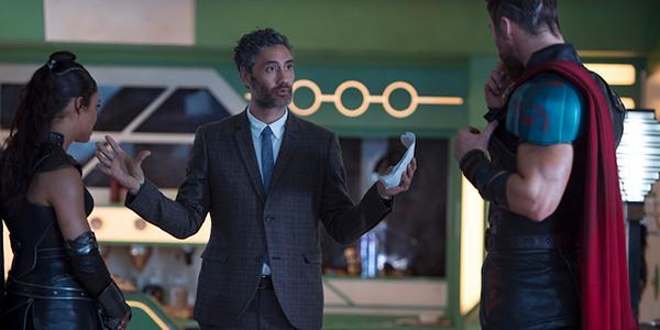Taika Waititi rodando la tercera película de Thor.