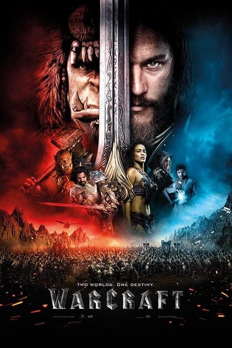 "Póster de ""Warcraft: el origen""."