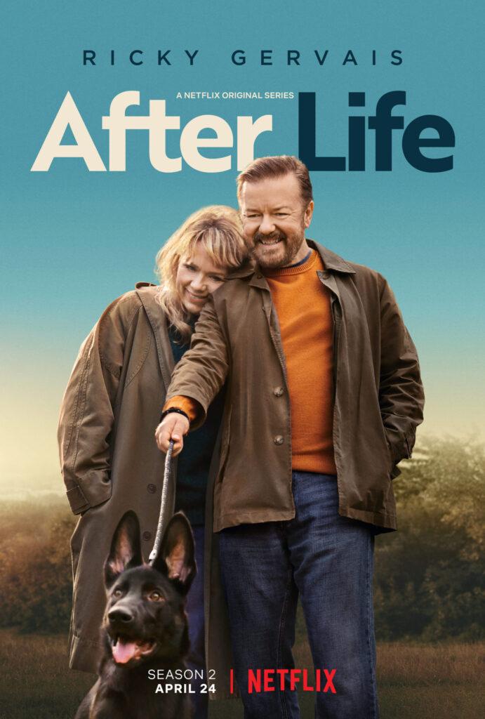 "Póster de ""After Life""."