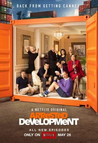 "Póster de ""Arrested Development""."