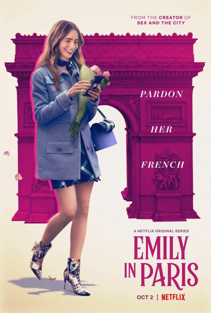 """Poster """"Emily en Paris"""""""