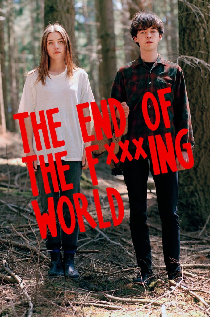 """The End Of The F***ing World"": la primera en nuestra lista de series de 20 minutos de Netflix."