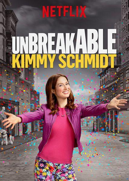 """Póster de """"Unbreakable Kimmy Schmidt""""."""