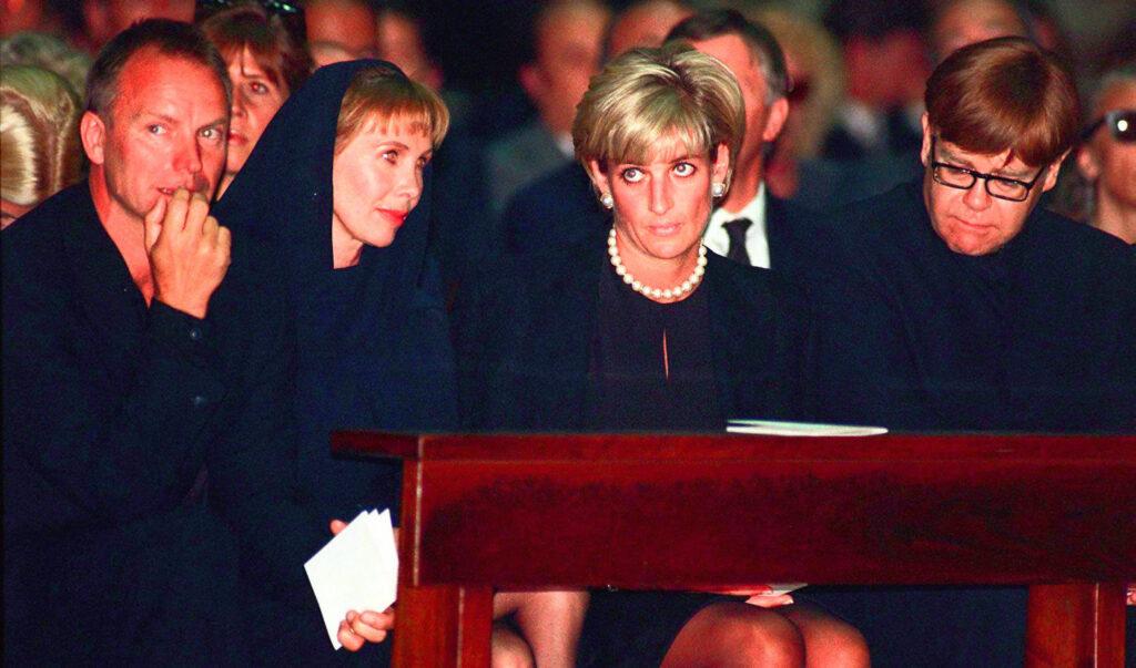 Funeral de Gianni Versace.