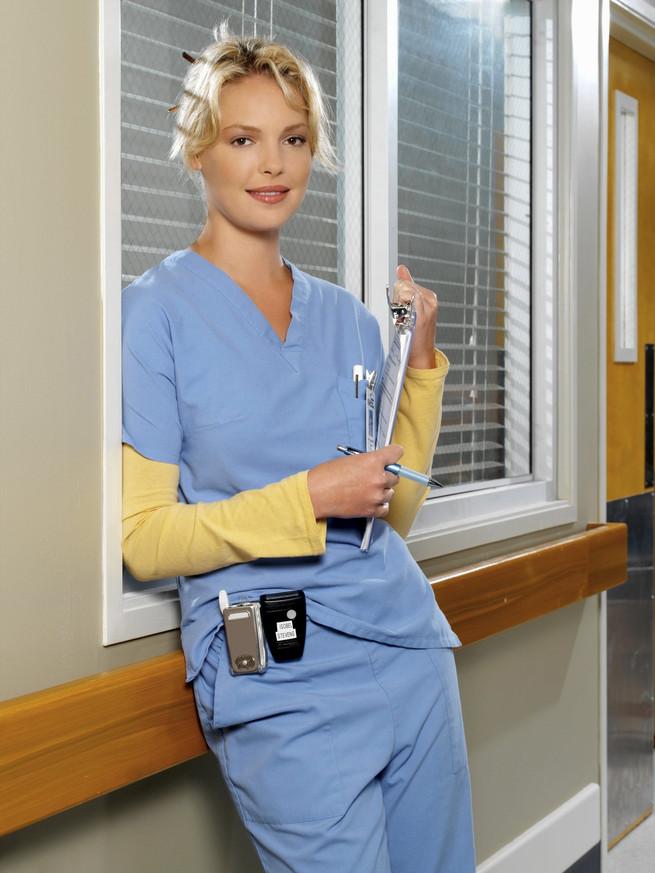 """Katherine Heighl en """"Anatomía de Grey"""""""