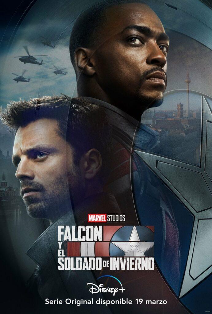 """Póster de """"Falcon y el Soldado de Invierno""""."""