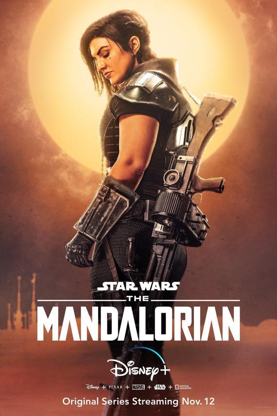 """Gina Carano en """"The Mandalorian""""."""