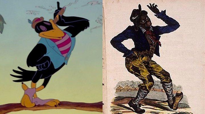 """Cuervos racistas en """"Dumbo""""."""