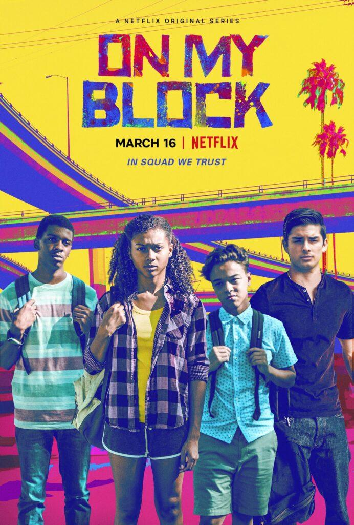 "Póster de ""On The Block"" temporada 4."