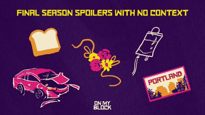 """5 spoilers de la temporada 4 de """"On My Block""""."""