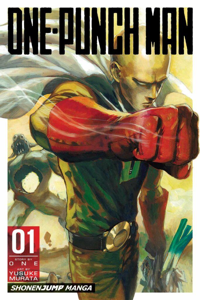 """Portada de """"One Punch Man"""", el manga."""