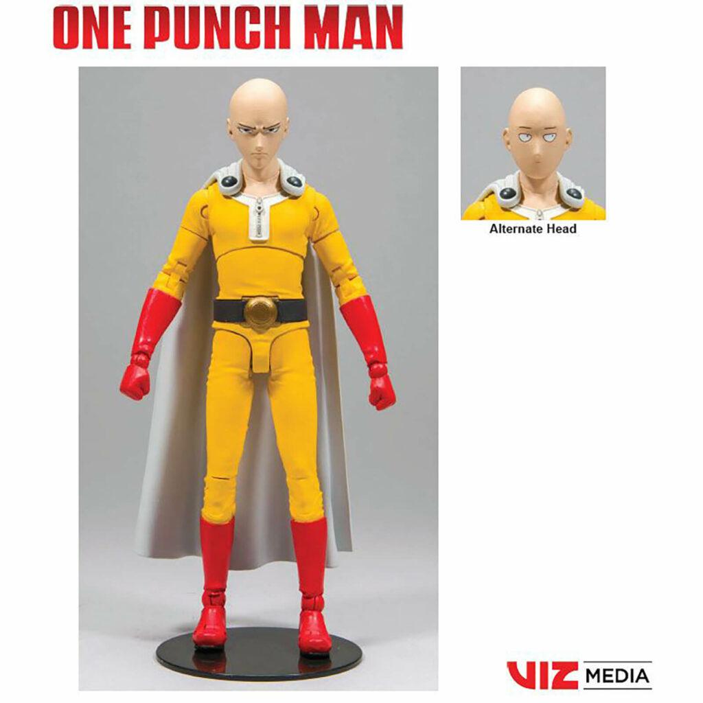 "Muñeco de ""One Punch Man""."