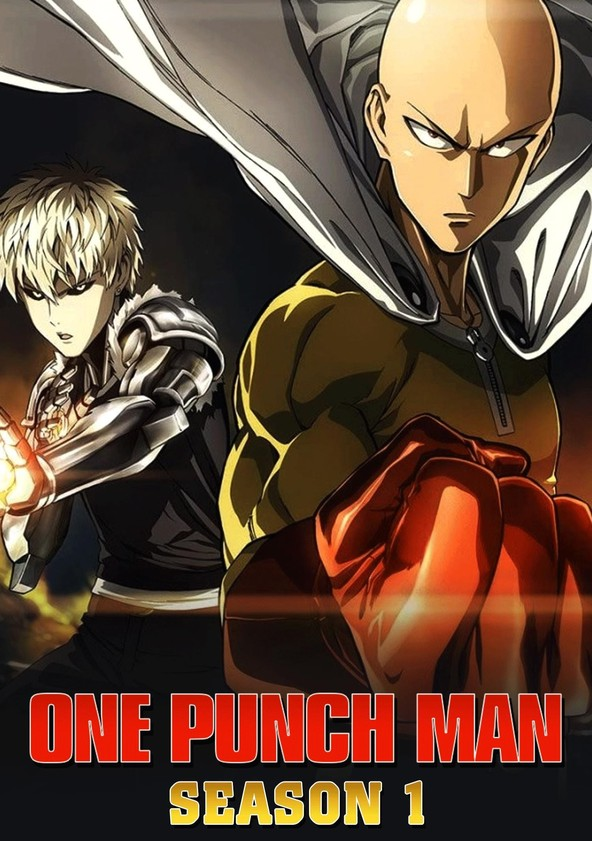"Póster de ""One Punch Man"" temporada."