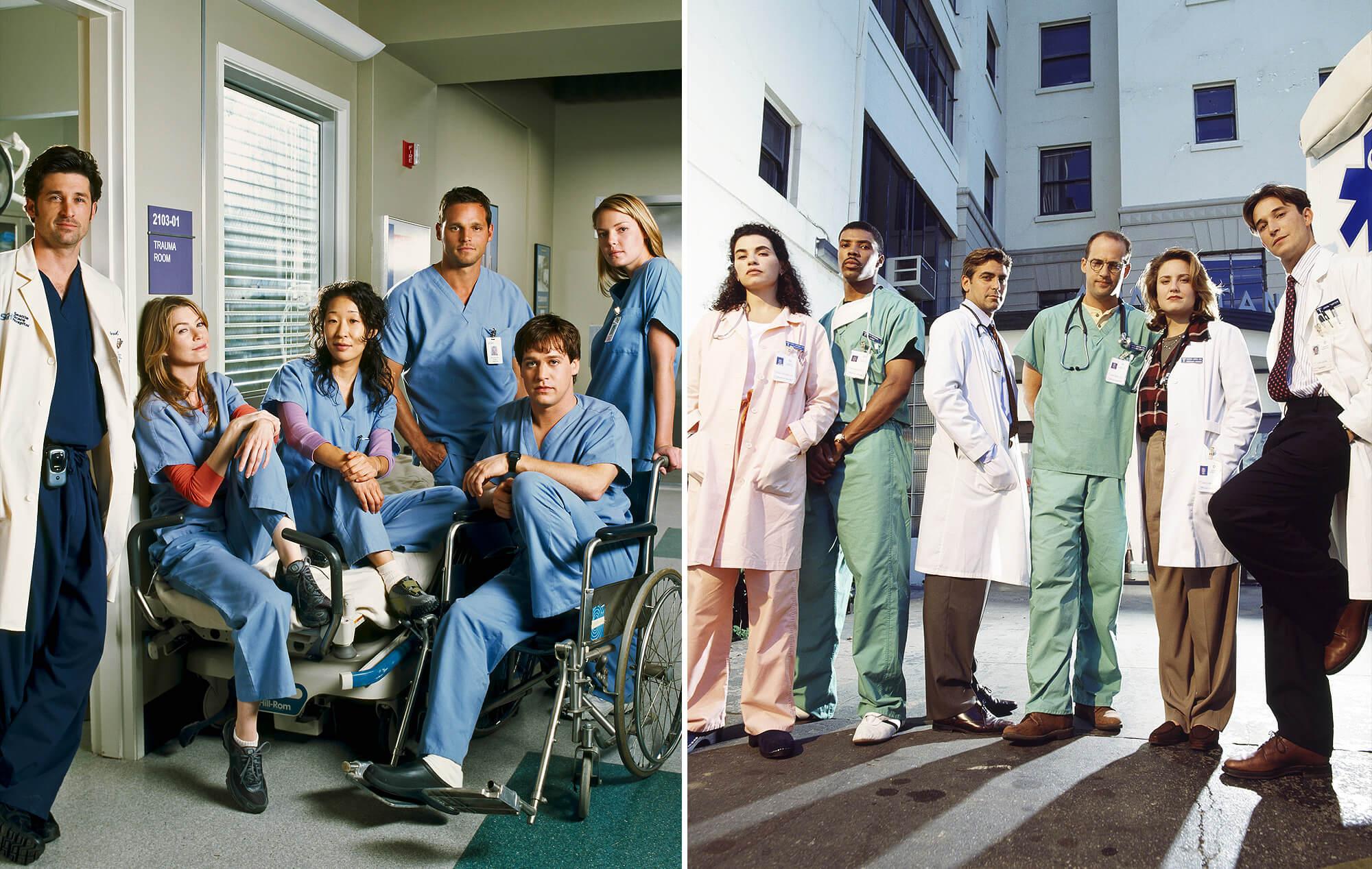 Las 12 mejores series de médicos