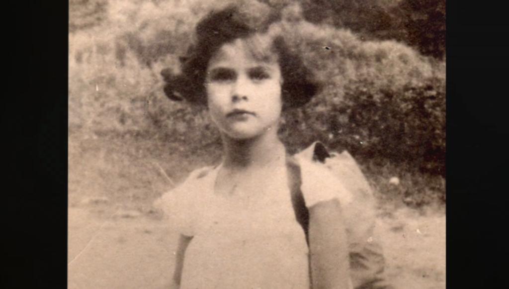 Hedy Lamarr con 6 años de edad.